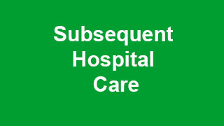 Subsequent Hospital Care CPT Codes