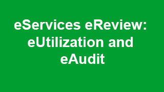 eServices eReview: eUtilization and eAudit Video