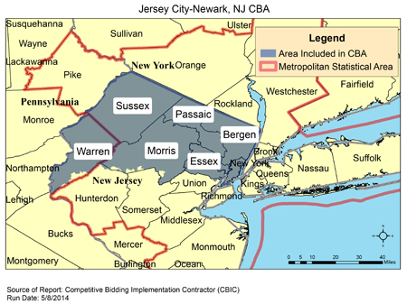 CBIC - Round 2 Recompete - Competitive Bidding Area - Jersey City ...